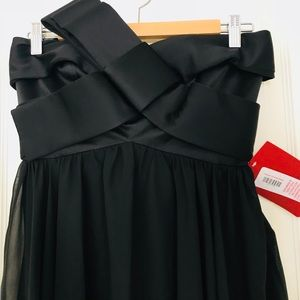 New with tag black special occasion mini dress